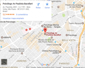 Terapia na Av Paulista Metrô
