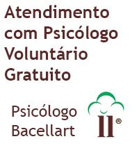 Atendimento com Psicólogo Voluntário Gratuito - Terapia