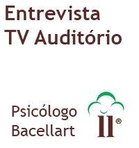 Psicólogo para dar Entrevista TV, Jornal, Revista - Bacellart USP