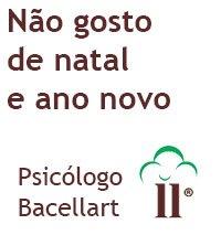 Não gosto de natal e ano novo - Bacellart Psicólogo USP