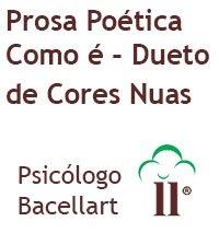 Prosa Poética Como é - Dueto de Cores Nuas - Livro de Bacellart