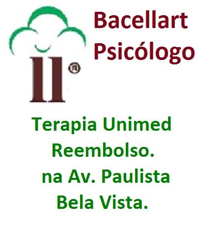Psicólogo Unimed Reembolso Av Paulista Terapia Metrô com Bacellart