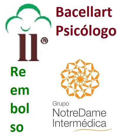 Psicólogo Notredame Intermédica Reembolso Paulista Terapia c/ Bacellart
