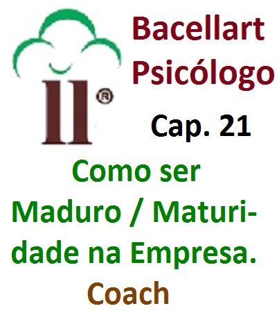 Como ser Maduro na Empresa Maturidade no Trabalho Bacellart Psicólogo 21