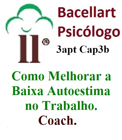 3-3b Como Melhorar Baixa Autoestima Trabalho - Bacellart Psicólogo USP Coach