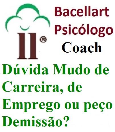 2-6 Dúvida Mudo Carreira Emprego Demissão? - Bacellart Psicólogo Coach
